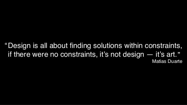 http://www.flickr.com/photos/communityfriend/2342578485 Embrace those constraints… set a performance budget