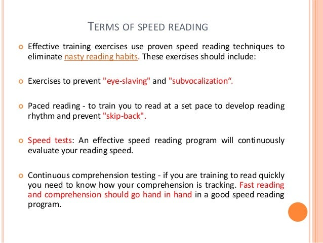 HOW DO YOU RATE?  Slow reader: 0 - 150 words per minute. Typically has very poor comprehension. Many people who read slow...