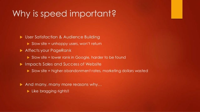 Speed up your site! #WCTO2015 slideshare - 웹