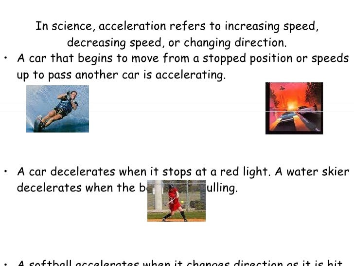 how to get acceleration from speed