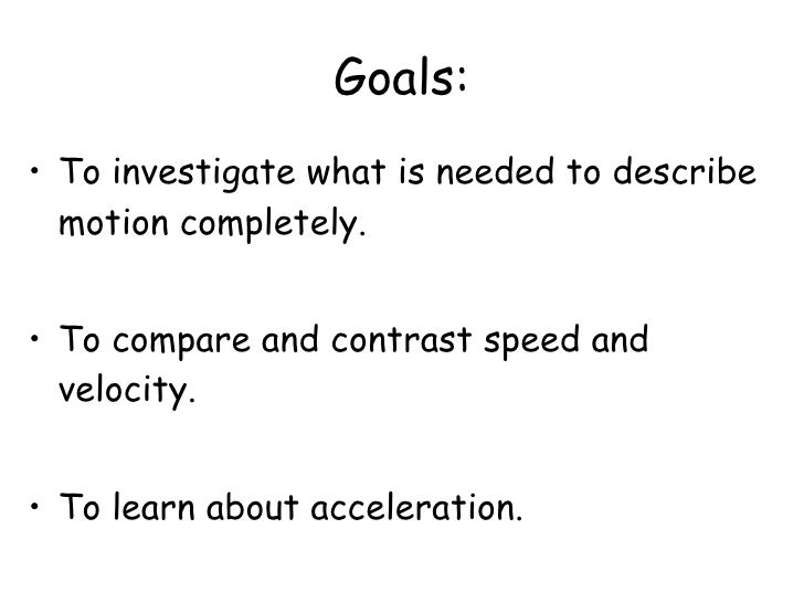 relation between speed and velocity