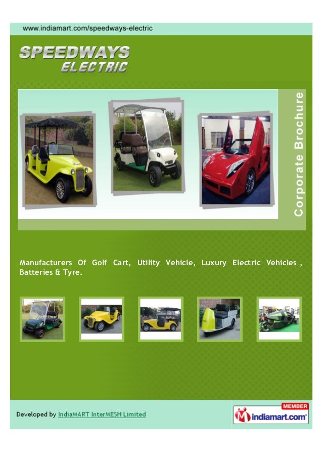 Manufacturers Of Golf Cart, Utility Vehicle, Luxury Electric Vehicles ,Batteries & Tyre.