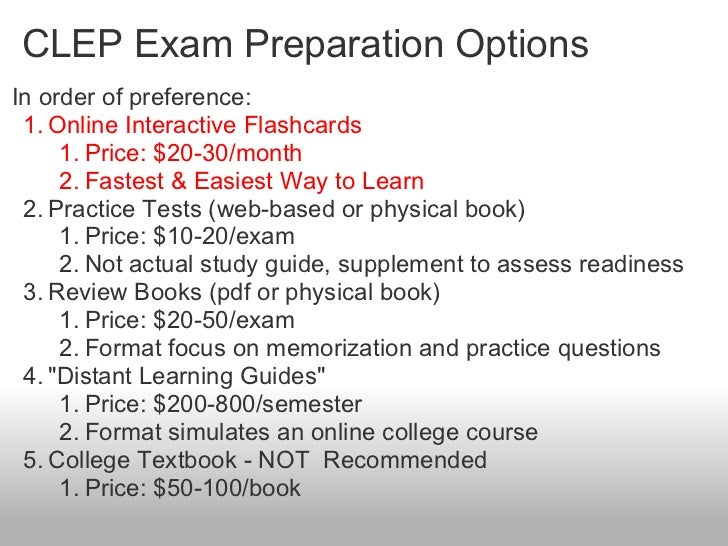 Biology CLEP - Free-Clep-Prep.com