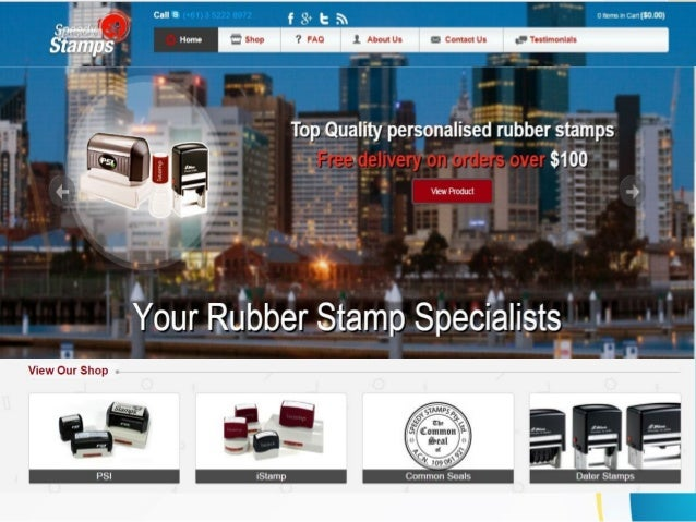 Introduction  Speedy Stamps is a renowned name that serves  its customers need of customized rubber  stamps. It is proudly...