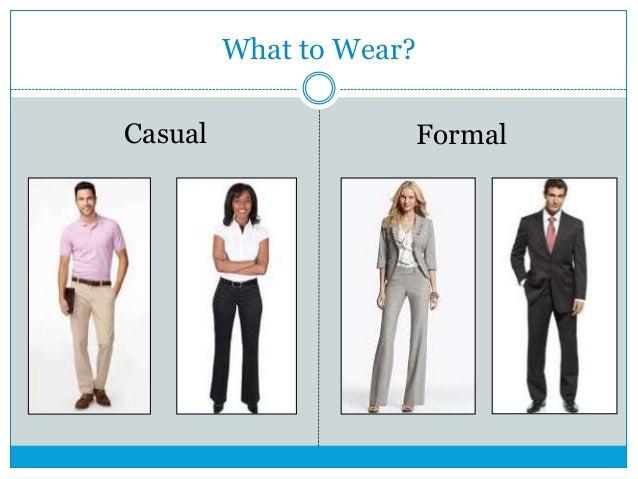 on job interview formal attire