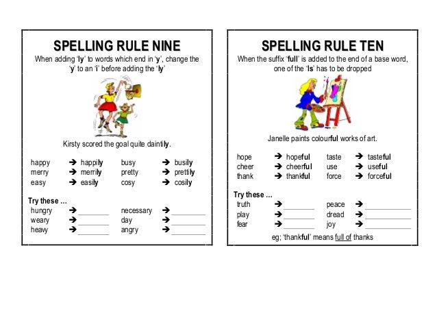 ����y.���,���9�y.ly/)_Spellingrules