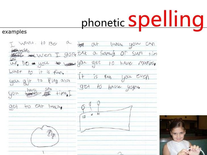 Spelling Instruction