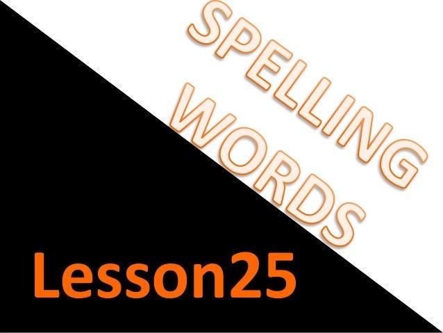 Lesson25
