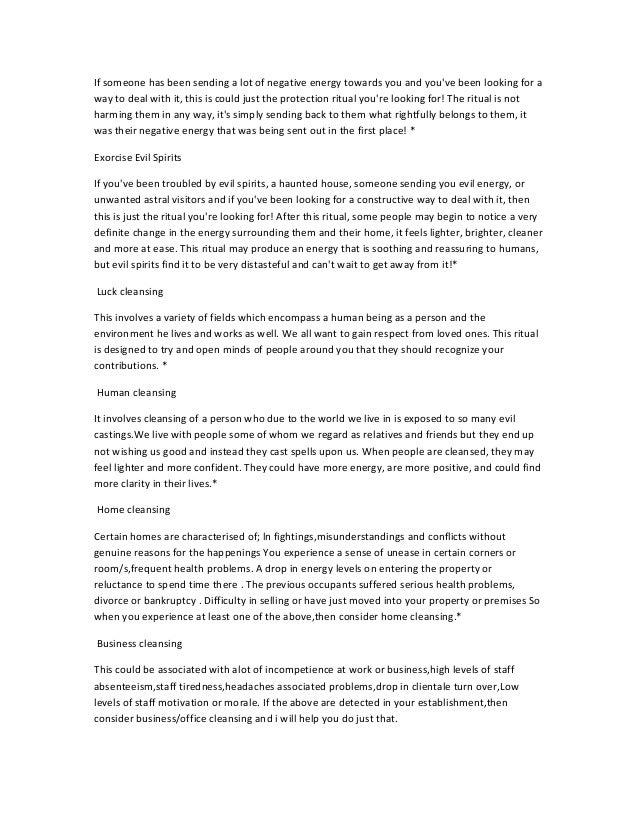 EXPERT LOVE SPELLS CASTER IN DURBAN /JOHANNESBURY Slide 3