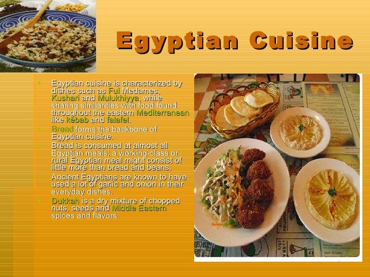 Spencer s egypt powerpoint for Ancient egypt cuisine