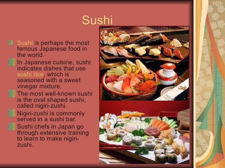Spencer s japan powerpoint for Asian cuisine ppt