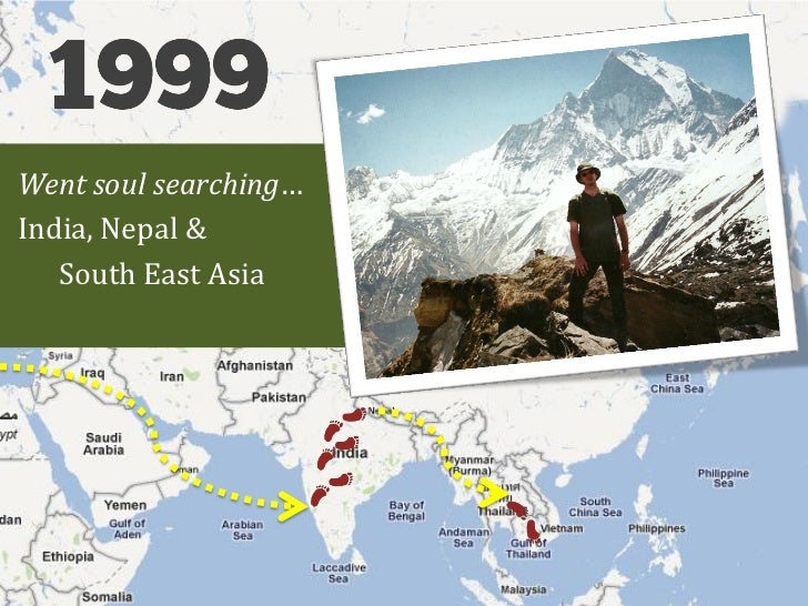 Went soul searching…India, Nepal &   South East Asia