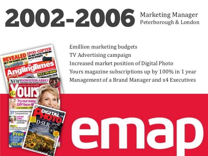 Marketing Manager                           Peterborough & London£million marketing budgetsTV Advertising campaignIncrease...