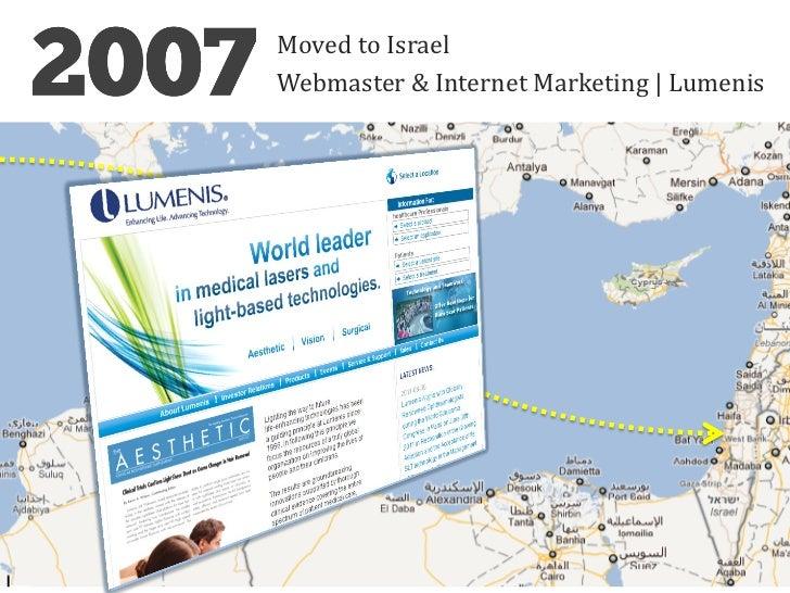 Moved to IsraelWebmaster & Internet Marketing   Lumenis