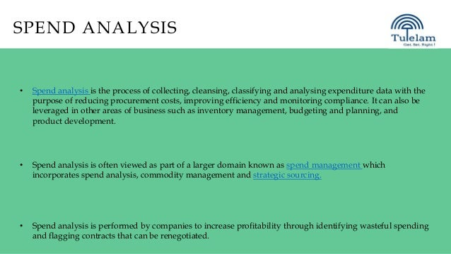 Spend analysis service provider india