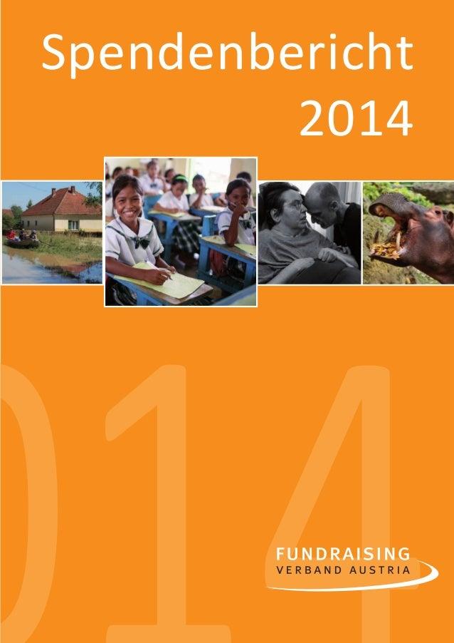 1 Spendenbericht 2014 00140spendenbericht_2014-final-druck.indd 1 16.12.14 23:24