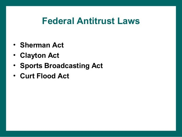 a description of shermans antitrust during the twenty first century The death of antitrust safe harbors: causes and consequences during the first several decades of the doctrine's modern era twenty-first century antitrust.