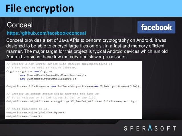Sperasoft talks: Android Security Threats