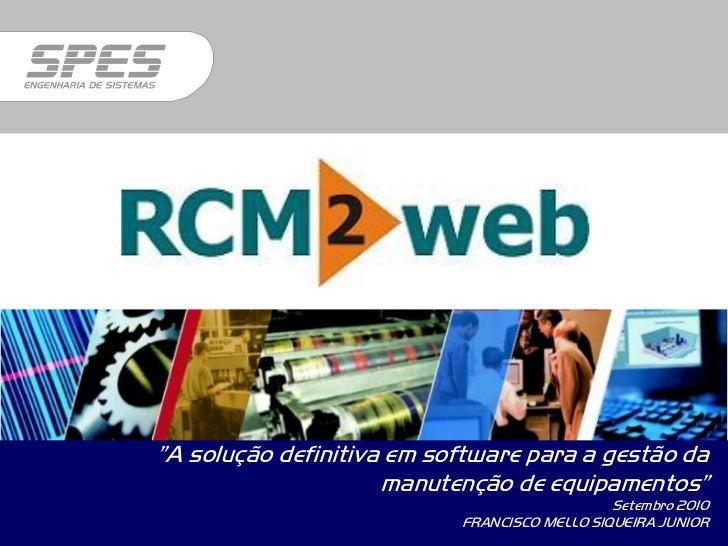 """""""A solução definitiva em software para a gestão da                     manutenção de equipamentos""""                        ..."""