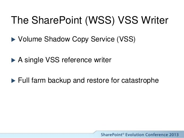 Starting and Configuring the WSS Writer Service