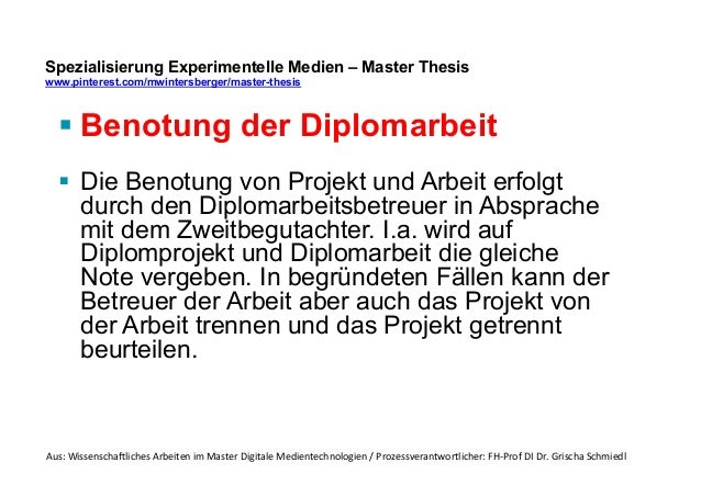 dissertation benotung österreich