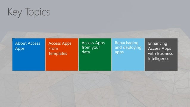 Access Apps for Office 365 with Power BI