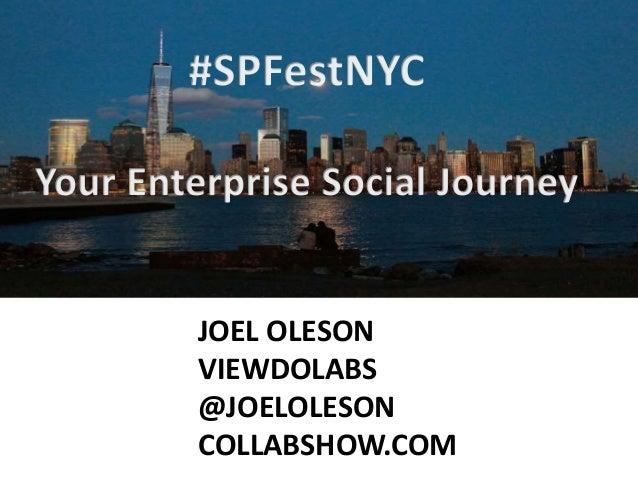 JOEL OLESON VIEWDOLABS @JOELOLESON COLLABSHOW.COM