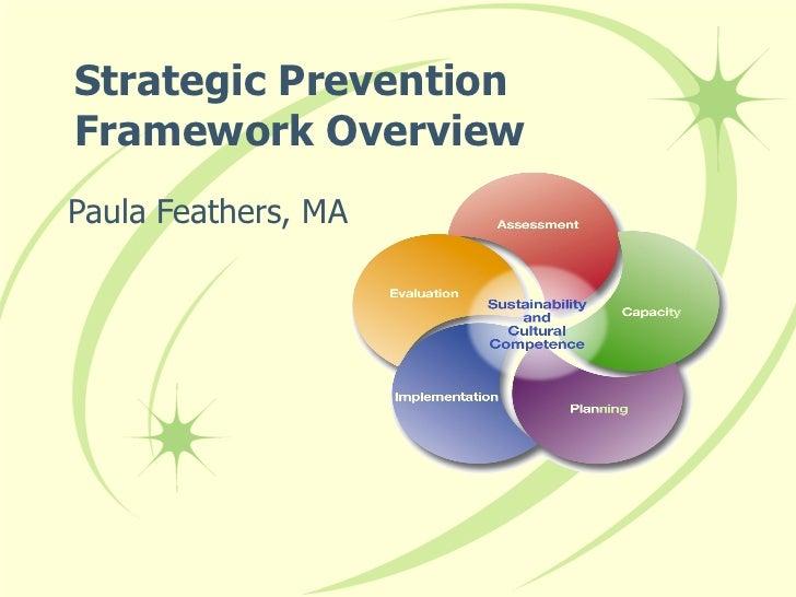 Strategic Prevention Framework Overview Paula Feathers, MA