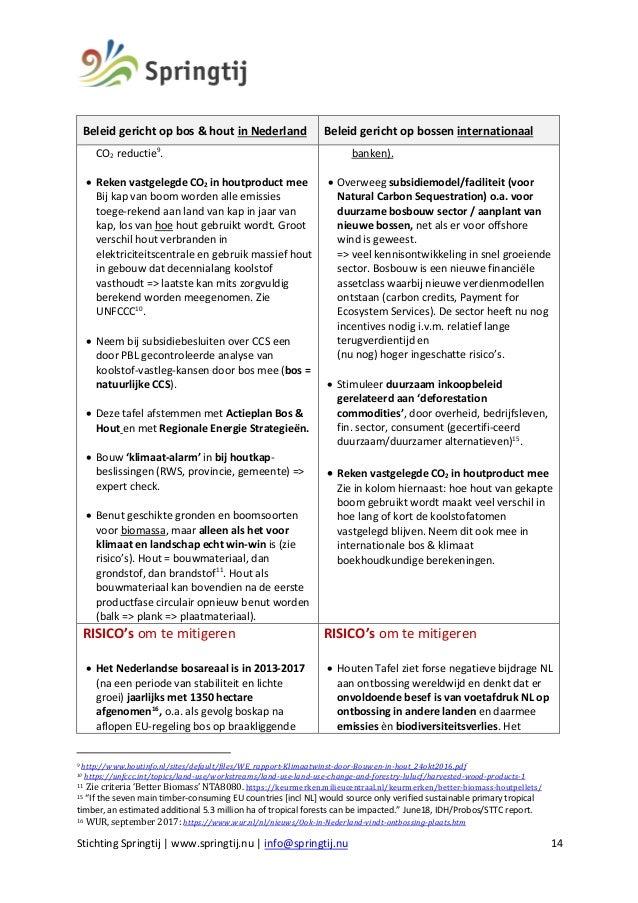 Rapport Schaduwtafels Springtij 2018