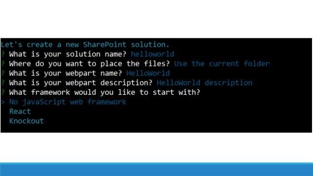Overview of SharePoint Framework (SPFx)