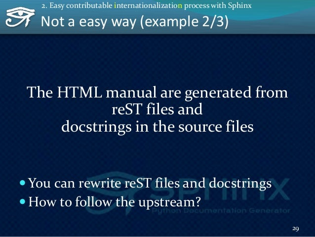 Not a easy way (example 3/3) OK, we are engineers. we can use GIT!  Learn git  Learn GitHub  git clone to get the code ...