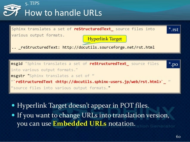 How to change language w/o rewriting conf.py  You can use SPHINXOPTS make option  It also works with other targets not o...