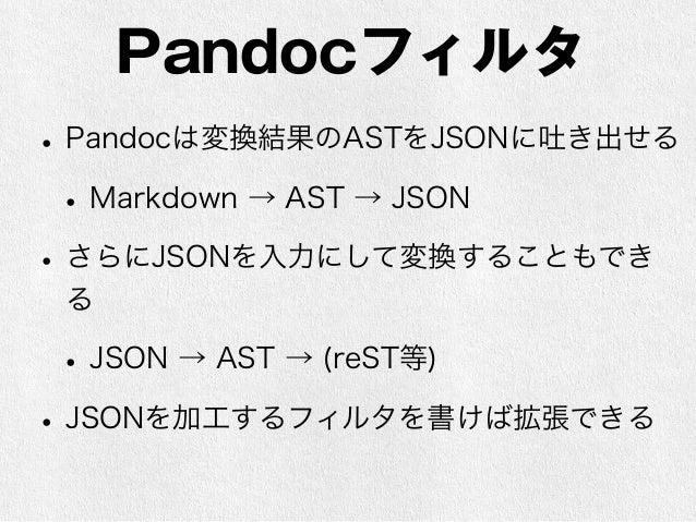 $ pandoc -f markdown   -t json emoji.md > emoji.json