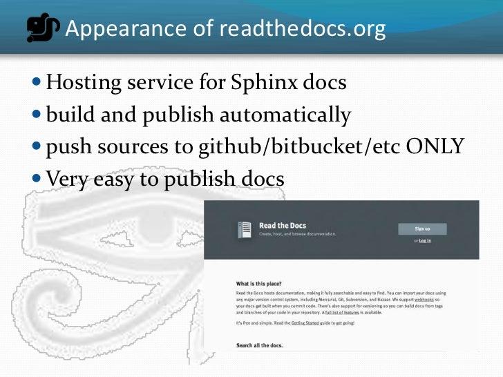 Use Sphinx Python To Build Website