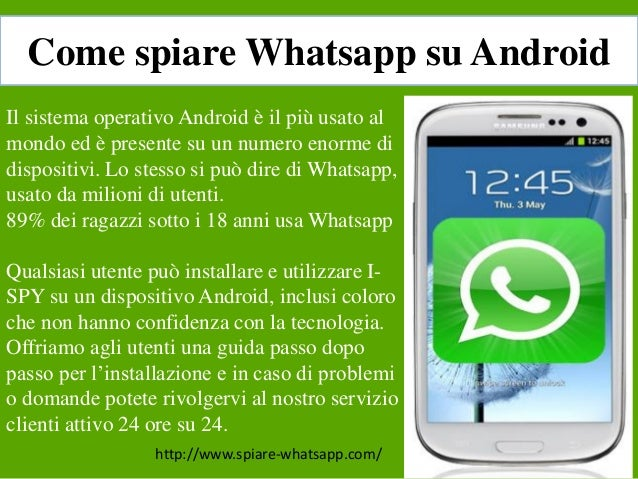 spiare whatsapp si puo