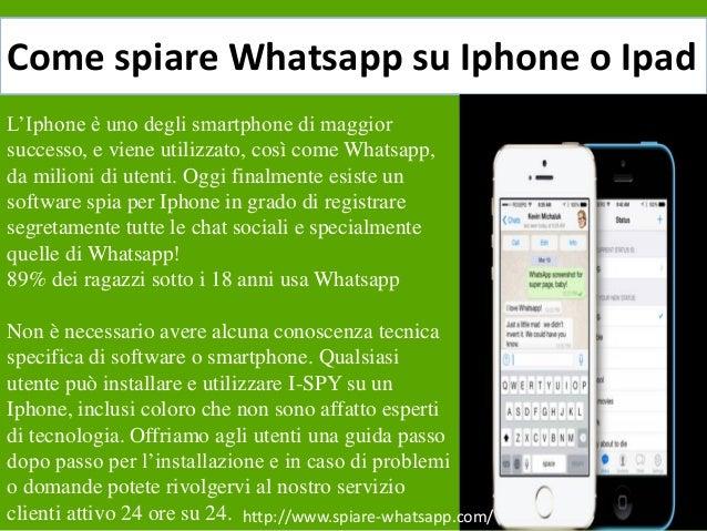 come spiare whatsapp con iphone 8