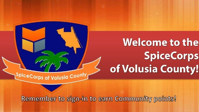 SpiceCorps of Volusia County 2013-05-18