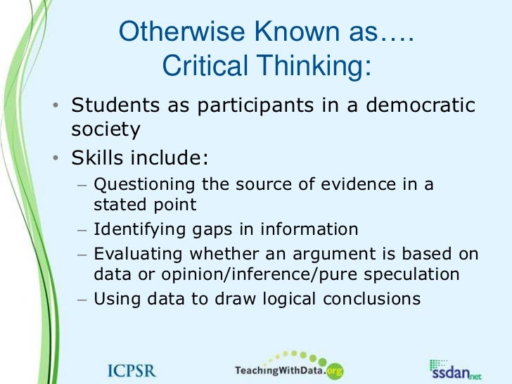 inquiry based learning critical thinking skills Inquiry-based learning: preparing young learners for the demands  engaging critical thinking skills with learners of the special populations  actively educator's voice  in educator's voice n volume viii n educator's voice nn inquiry-based learning: preparing young learners.