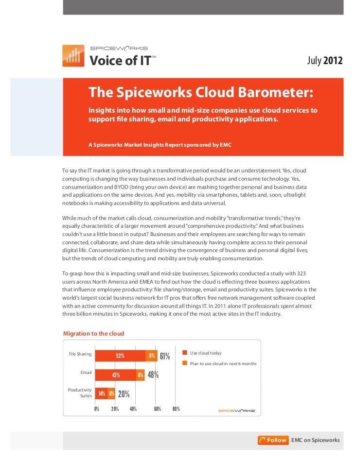 Voice of IT                                                                                 July 2012                     ...