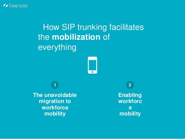 SIP trunking: Weapon of mass communication