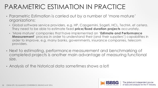 Improve Estimation Maturity Using Functional Size Measurement And His