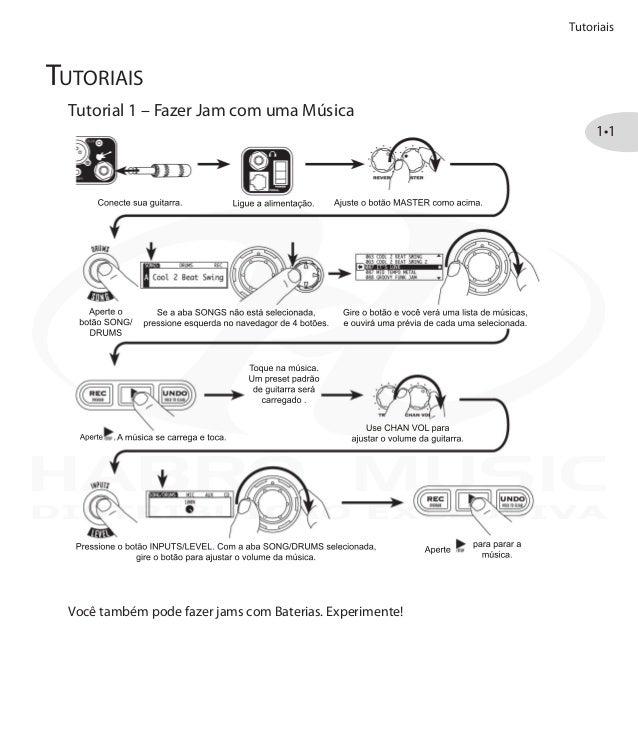 Manual do amplificador Line 6 SPIDER JAM (PORTUGUÊS)