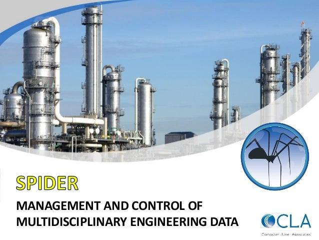 MANAGEMENT AND CONTROL OF MULTIDISCIPLINARY ENGINEERING DATA