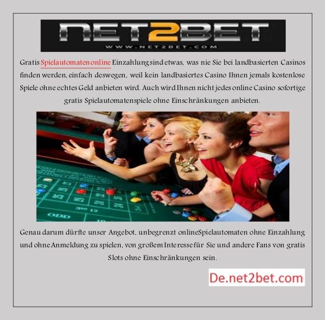 Gratis Spielautomaten online Einzahlung sind etwas, was nie Sie bei landbasierten Casinos  finden werden, einfach deswegen...