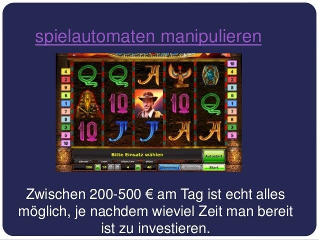 Kann Man Spielautomaten Manipulieren