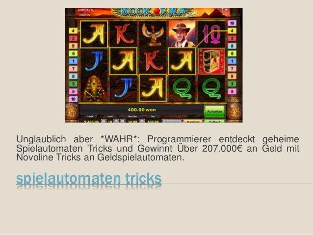 Unglaublich aber *WAHR*: Programmierer entdeckt geheime  Spielautomaten Tricks und Gewinnt Über 207.000€ an Geld mit  Novo...