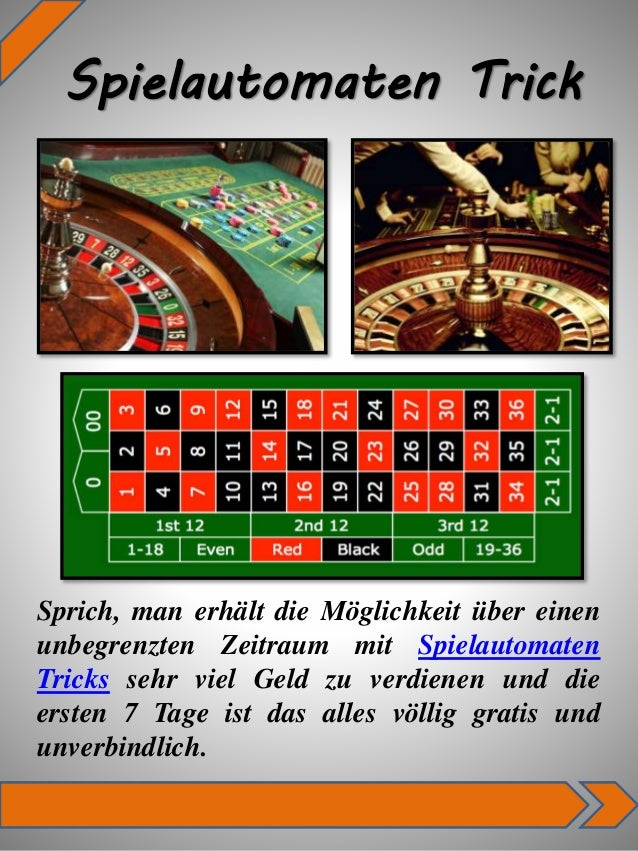 casino tricks automaten