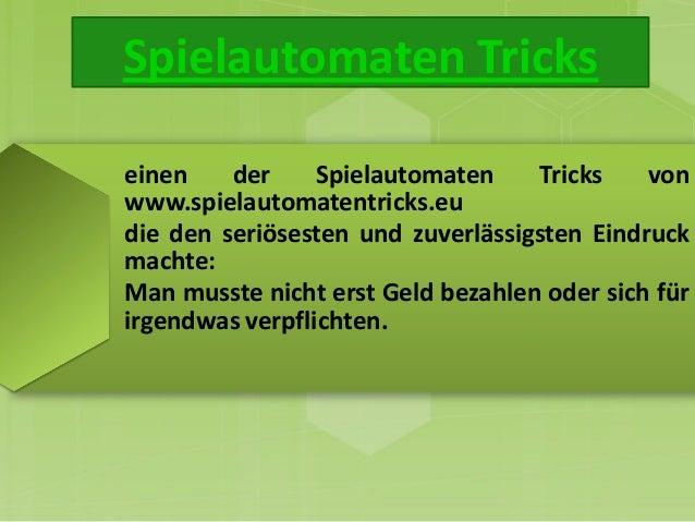tricks und tipps für spielautomaten
