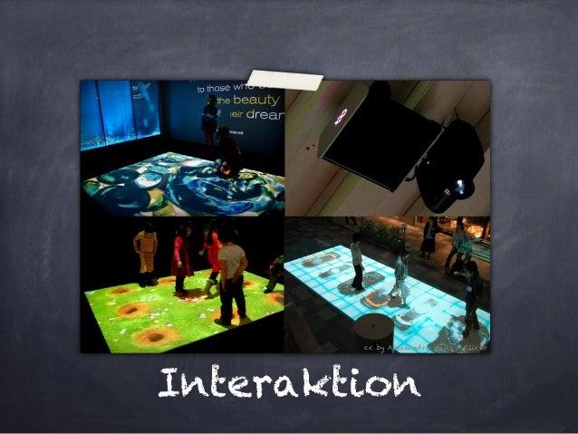 Interaktion  cc by Alessandro Valli / Flickr