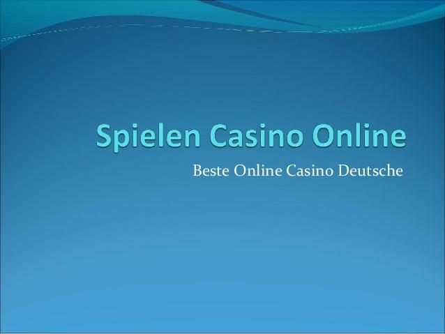 Beste Online Casino Deutsche